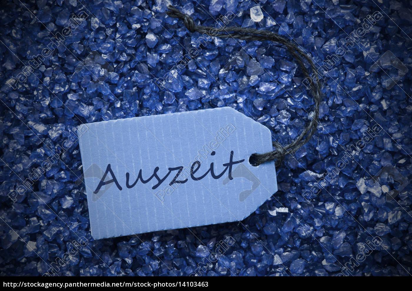 purple, stones, with, label, auszeit, means - 14103463