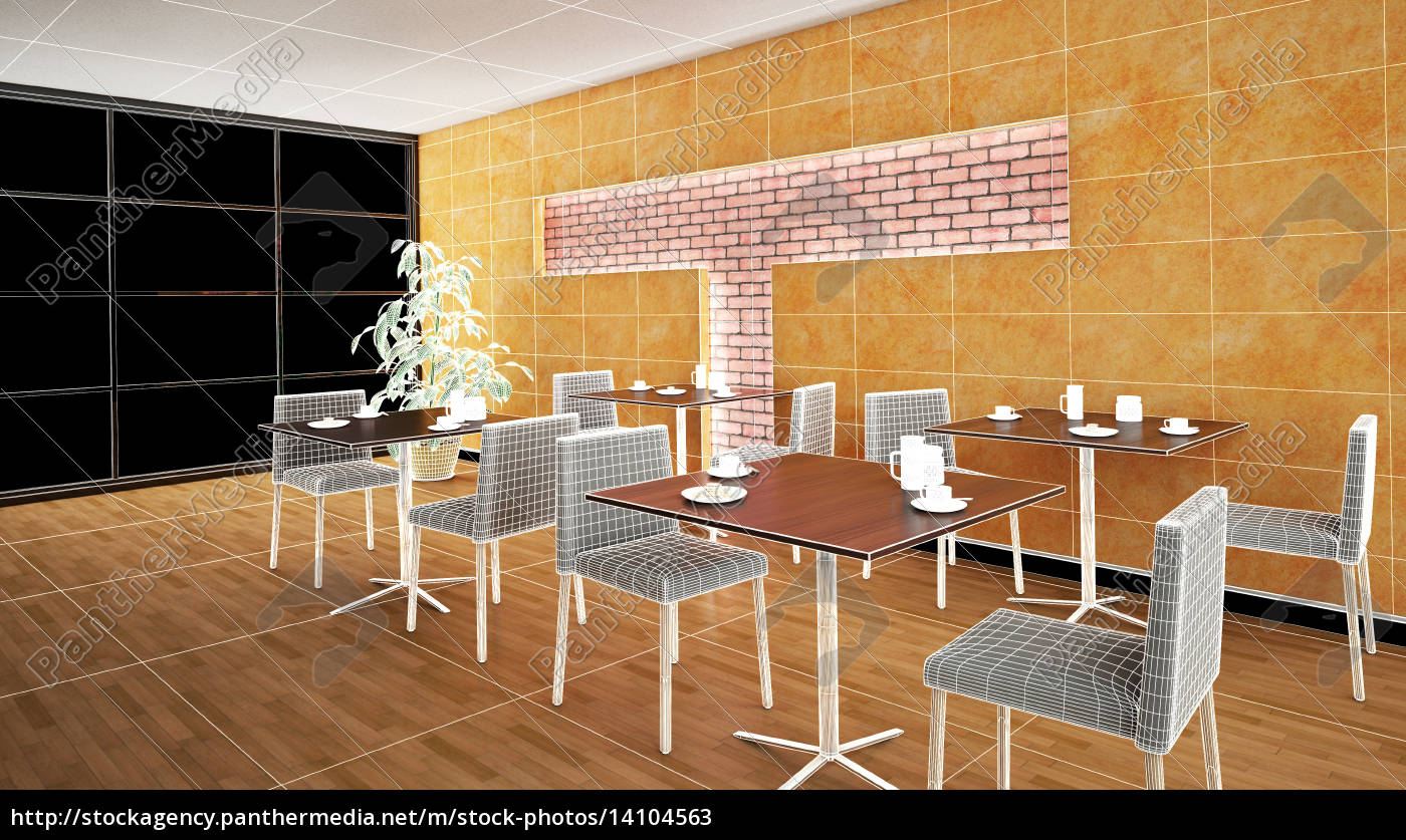 interior, rendering, of, a, bar, with - 14104563