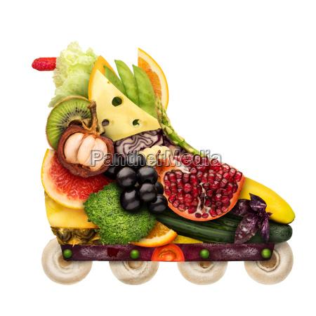 veggie inline roller