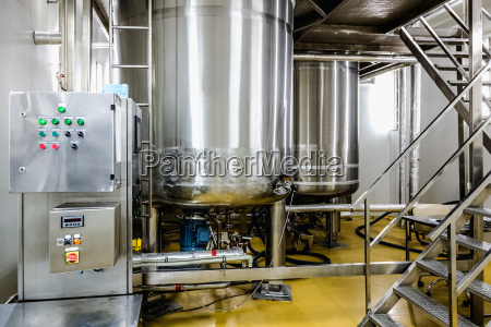 water conditioning or distillation room