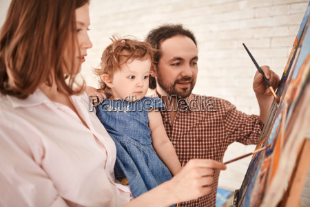 family of painters