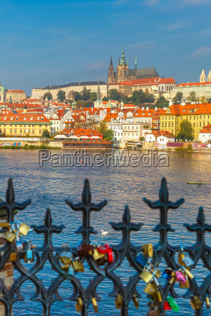 prague castle and little quarter czech
