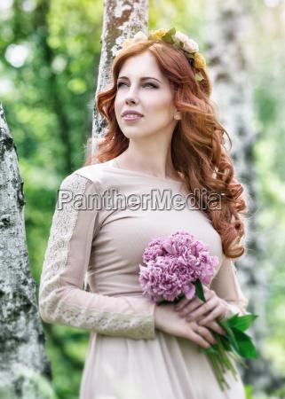 cute dreamy bride