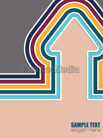 abstract colorful brochure cover design