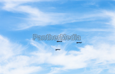 turboprop bomber aircrafts in white