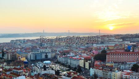lisbon city center skyline