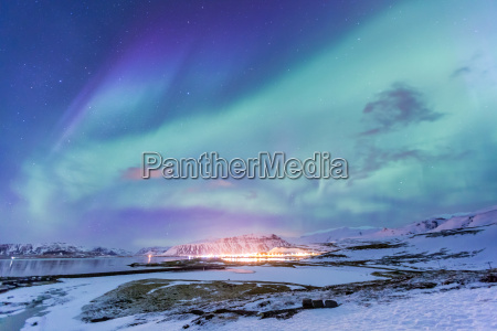 northern light aurora borealis iceland