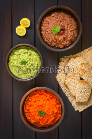 vegetable spreads