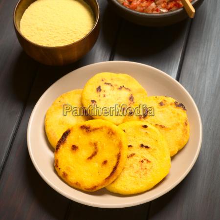 colombian arepa