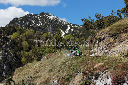 motorsport with the atv in