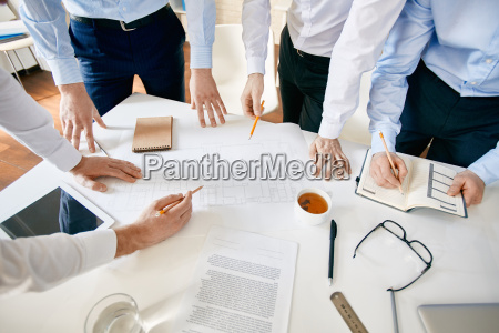 meeting of architects