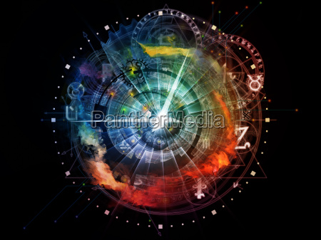 colorful sacred geometry