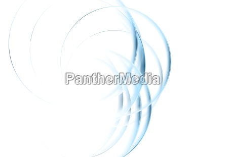 abstract blue waves corporate background