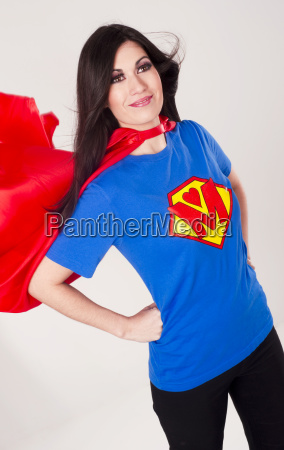 proud mom superhero mother red cape