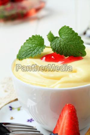 bowl, of, fruit, puree - 14203815