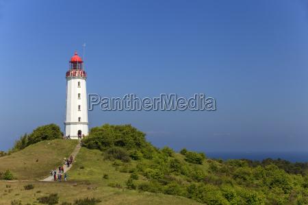 lighthouse dornbusch on hidden see island