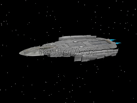 spaceship as a transporter