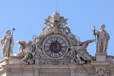 st peter clock