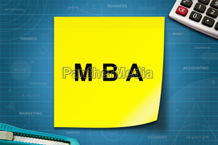 mba or master of business administration