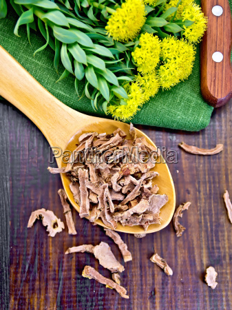 root dry of rhodiola rosea in