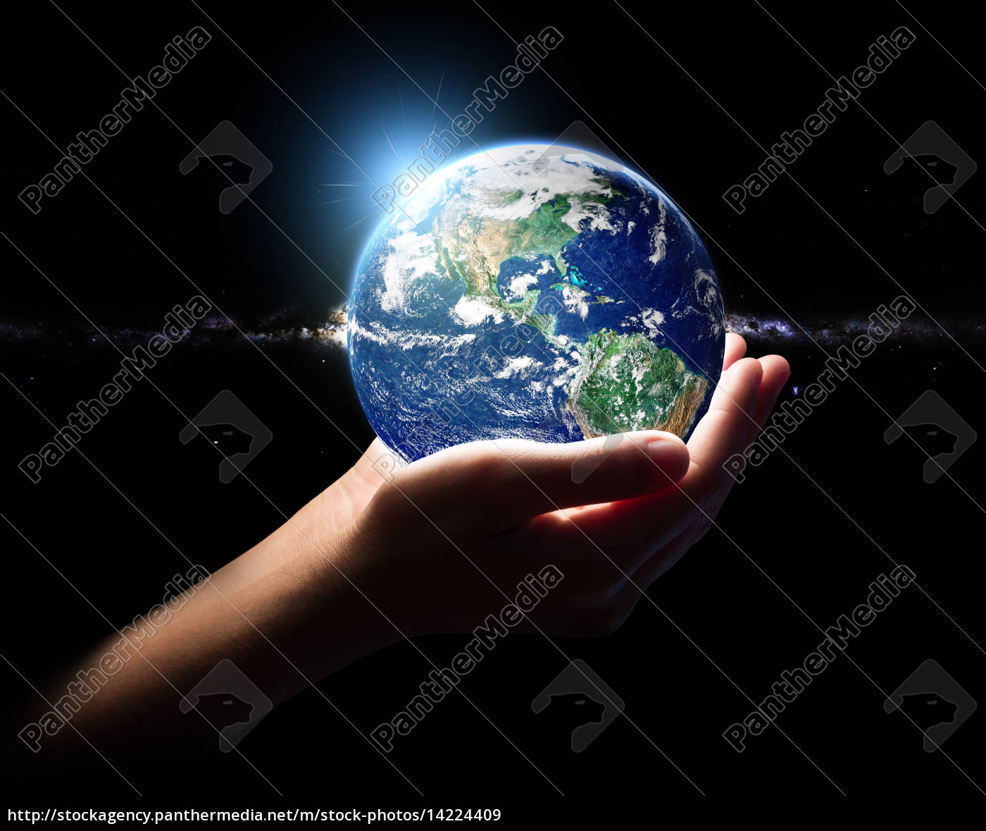 hand, hold, earth, and, in, universe - 14224409