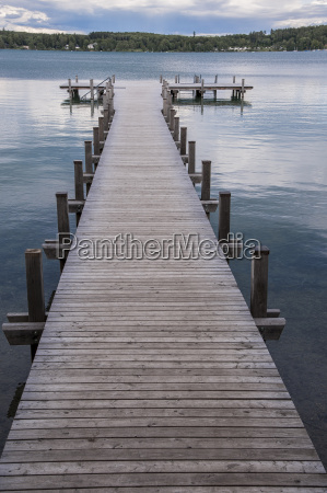 footbridge on woerthsee