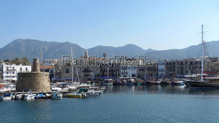 port of girne in north cyprus
