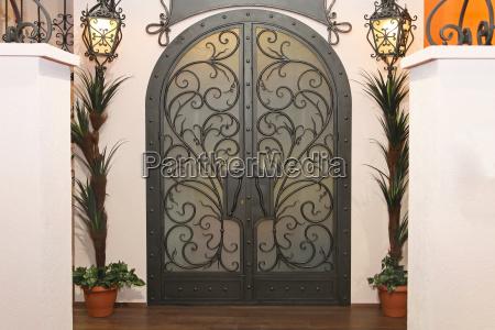 iron gate doors