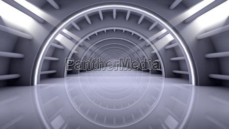 abstract modern background empty futuristic interior