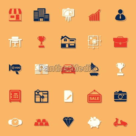 asset and property classic color icons