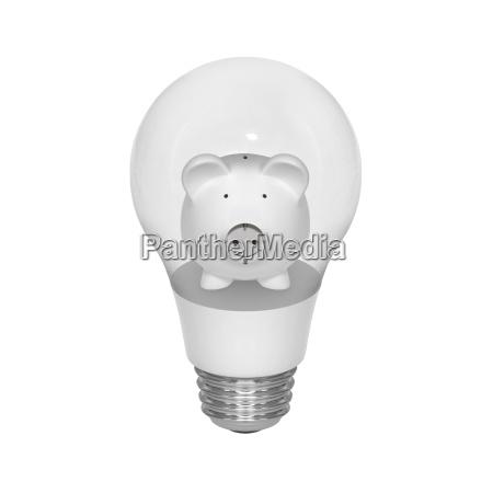 symbol for saving electricity