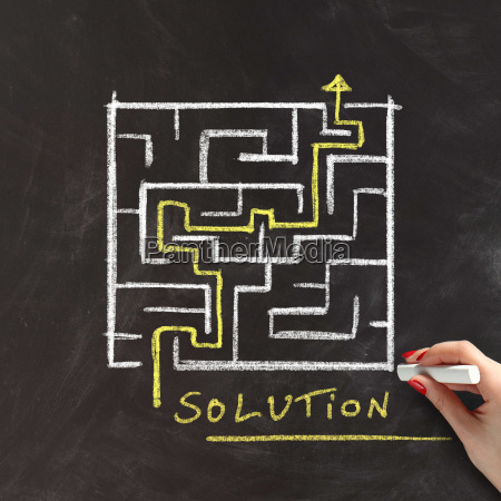 solution or problem solving concept