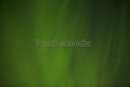 northern lights with bright stars in