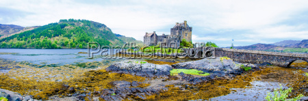 eilean donan castle in scotland uk