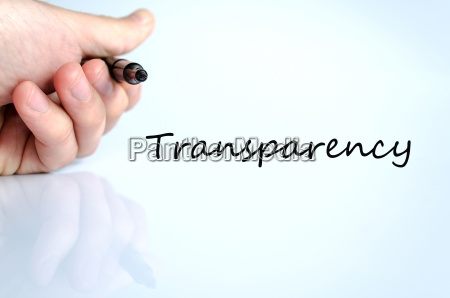 transparency concept