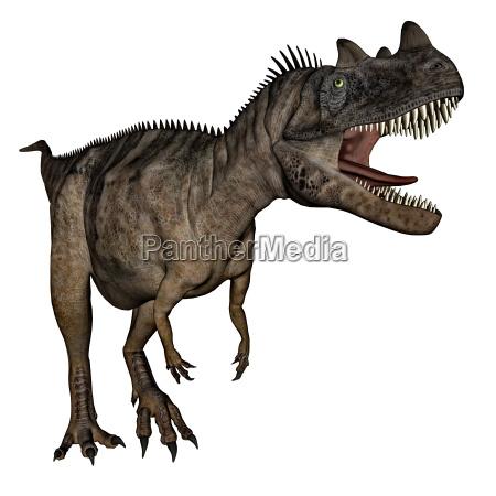 ceratosaurus dinosaur 3d render