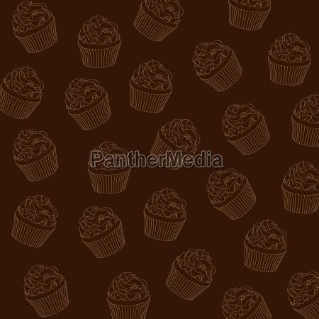 cupcakes pattern
