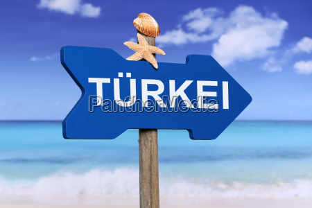 turkey with beach and sea during