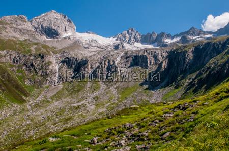 zillertal mountains