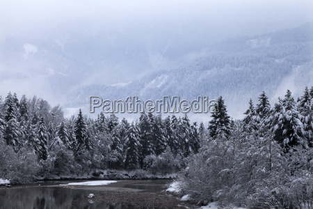 winter in the gail valley