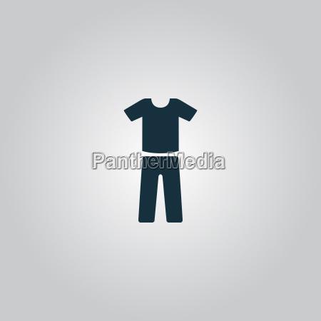 uniforme pantaloni e t shirt