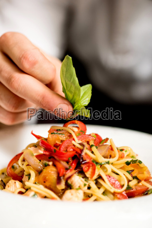 final touch for pasta salad