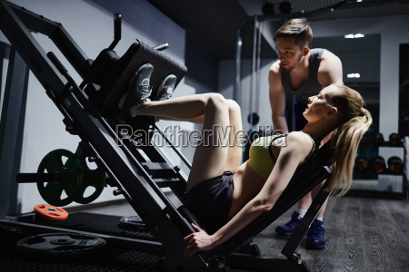 training legs on facilities