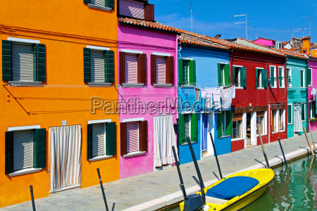 colorful buildings