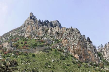 crusader castle saint hilarionnorth cyprus