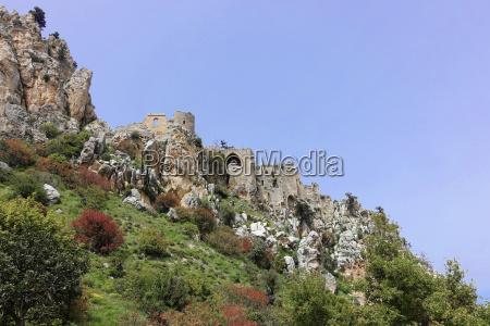 crusader castle sankt hilarionnorthern cyprus