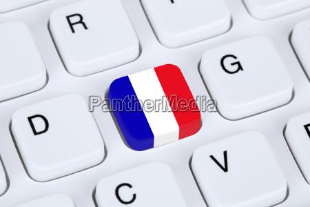 flag or flag of france on