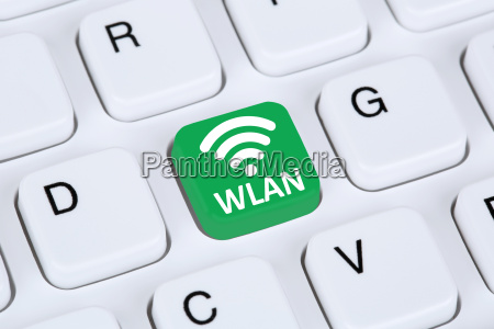 wlan or wifi hotspot connection internet