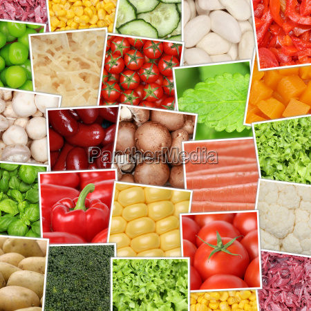 vegan and vegetarian vegetables background with