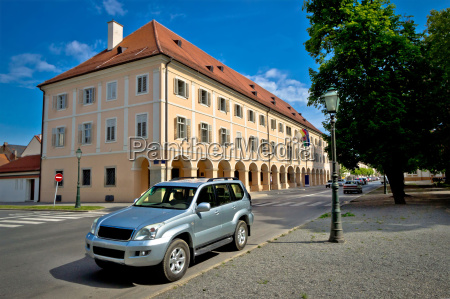 town of bjelovar square architecture